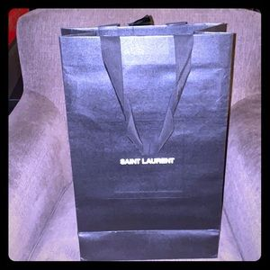Saint Laurent collectible shopping bag